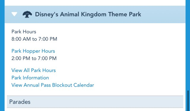 Disney World Theme Park Hours have been released through June 26th 5