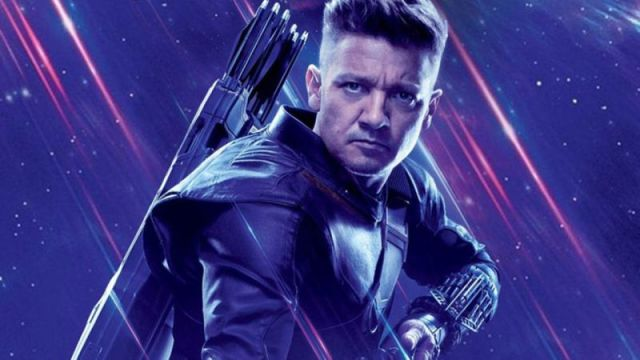 Jeremy Renner as Hawkeye in 'Avengers: Endgame'