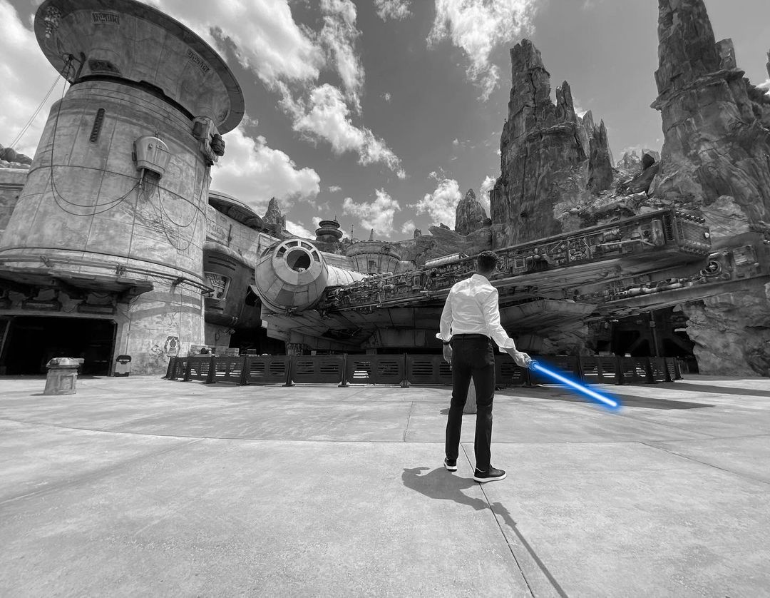 Disney Chairman Josh D'Amaro teases he has a real-life Lightsaber