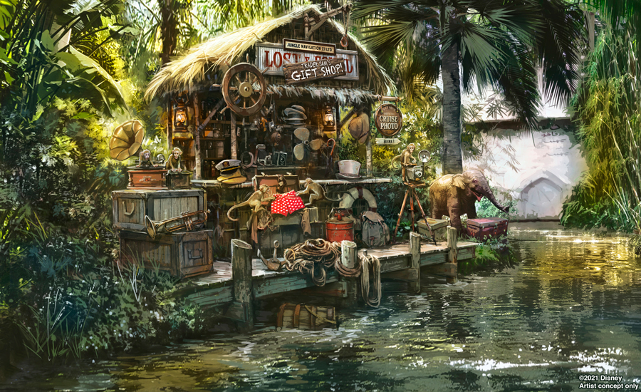 Jungle Cruise Trader Sam update for the Magic Kingdom