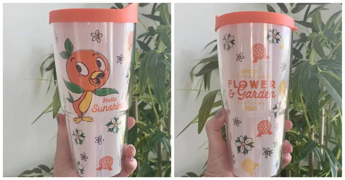 New Orange Bird Tumbler For The Flower And Garden Festival