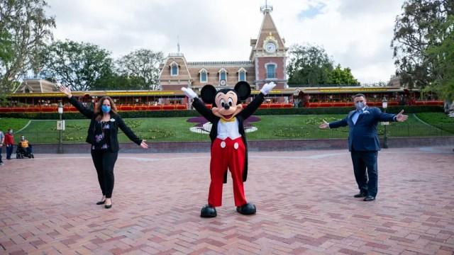 reopening of Disneyland