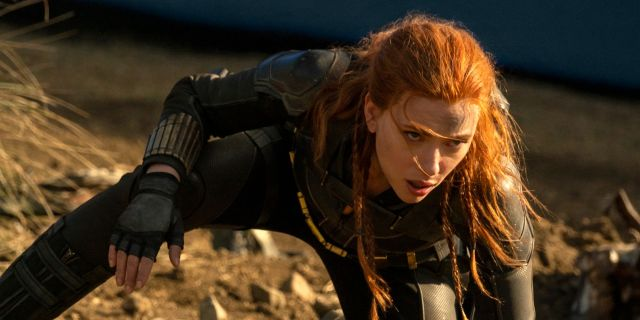 Scarlett Johansson in Marvel Studios' 'Black Widow'