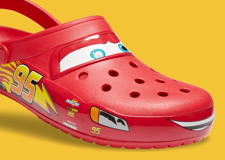 Ka-Chow New Lighting McQueen Crocs For Adults!
