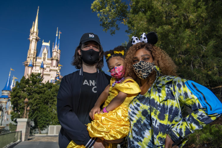 Tennis Star Serena Williams Visits Walt Disney World