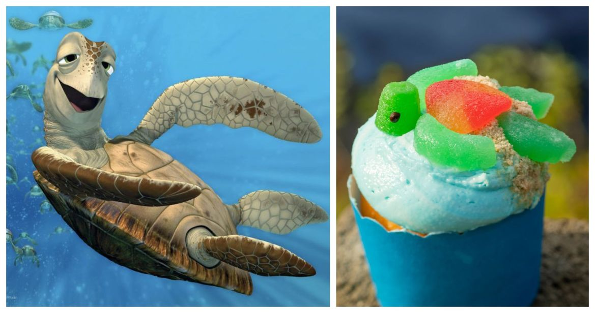 Celebrate Earth Month with the Sea Turtle Cupcake from Restaurantosaurus