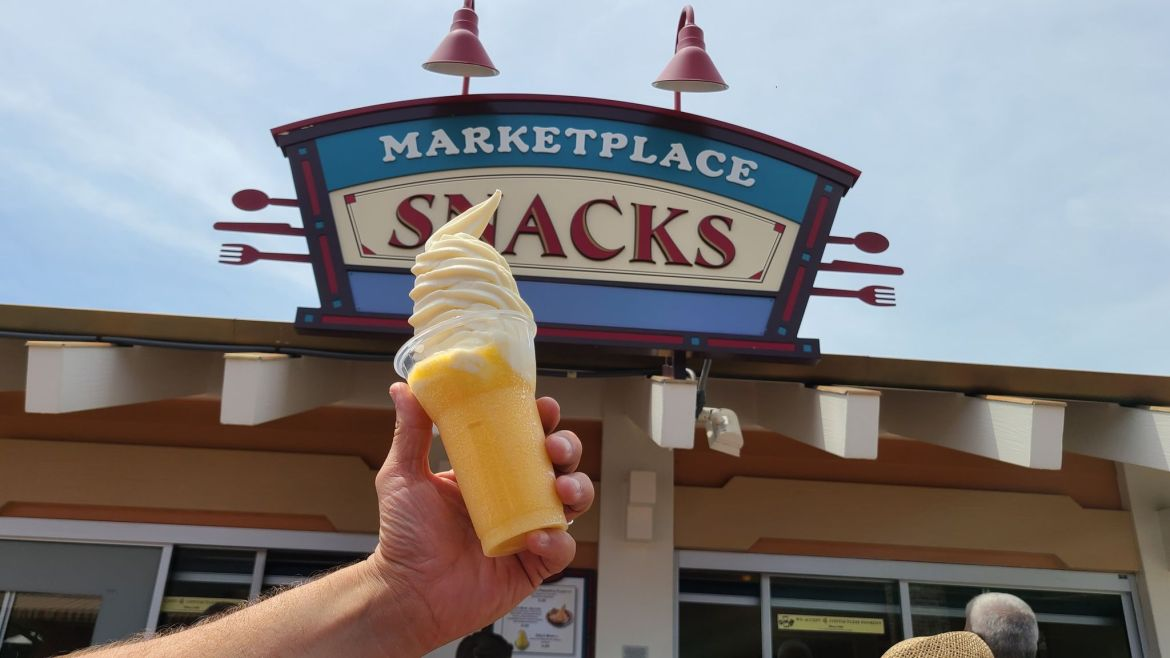 Have you tried the Orange Vanilla Dole Whip from Disney Springs?