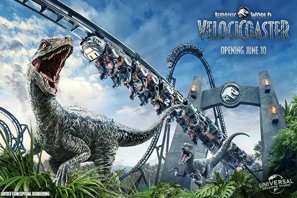 Universal Orlando Passholders get a sneak peek to Jurassic World VelociCoaster