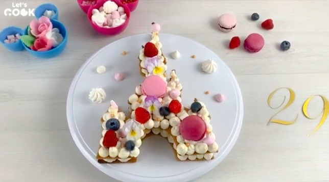 Disneyland Paris Castle Cake Recipe In Honor Of Its 29th Anniversary!