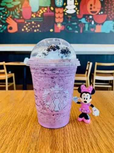 Minnie Mouse frappuccino