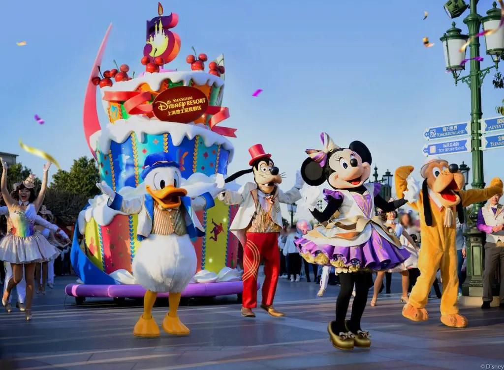 Shanghai Disney Resort's 5th Birthday  Celebration Officially Begins!