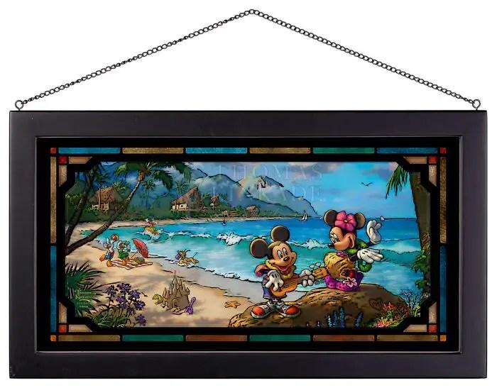 Disney Glass Art From Thomas Kinkade