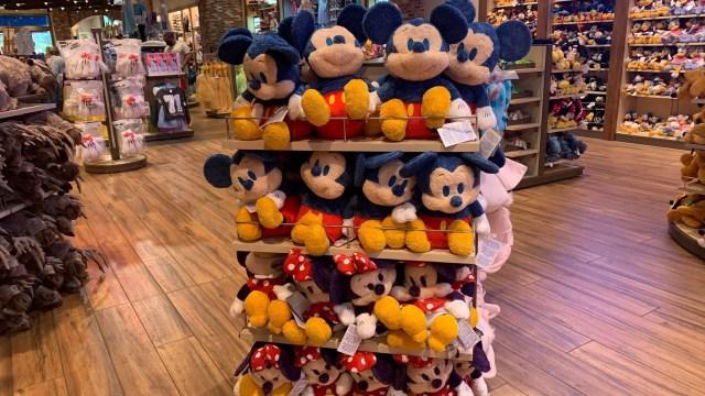 sensory-friendly Mickey and Minnie