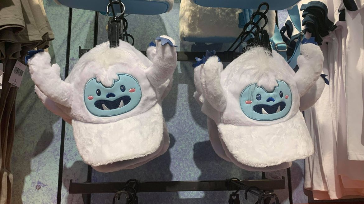 RAWR! We love these new Super Soft Yeti hats from the Animal Kingdom