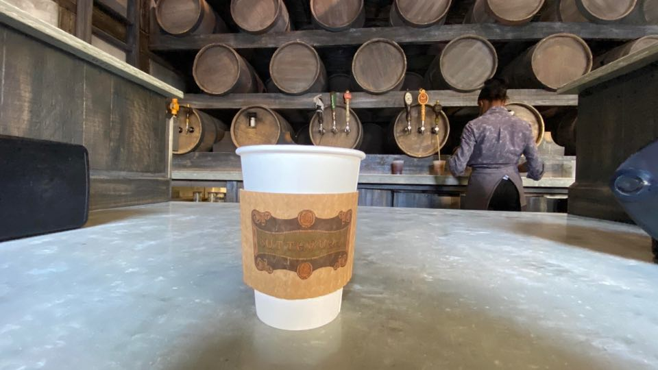 Hot Butterbeer available year-round at Universal Orlando