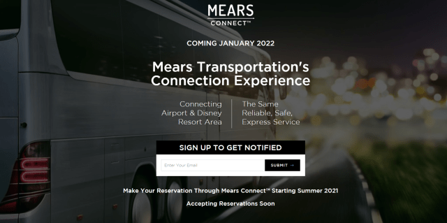 New Update on Magical Express replacement Mears Connect 1