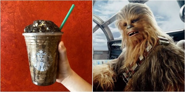 Order A Chewbacca Frappuccino To Celebrate Star Wars Day!