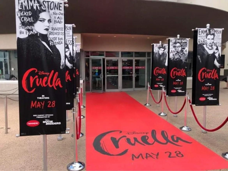 AMC Theatres in Disney Springs gets ready for Cruella