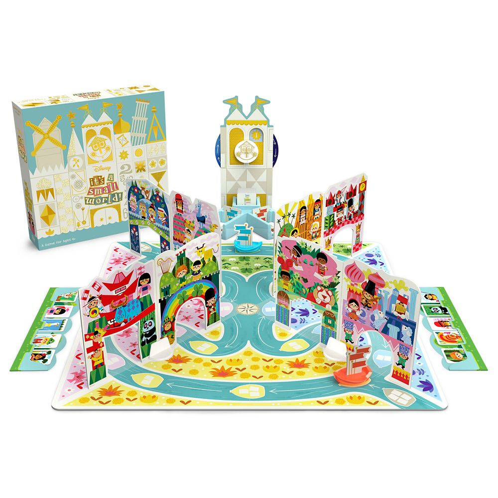 We're in Love with the new it's a small world Board Game