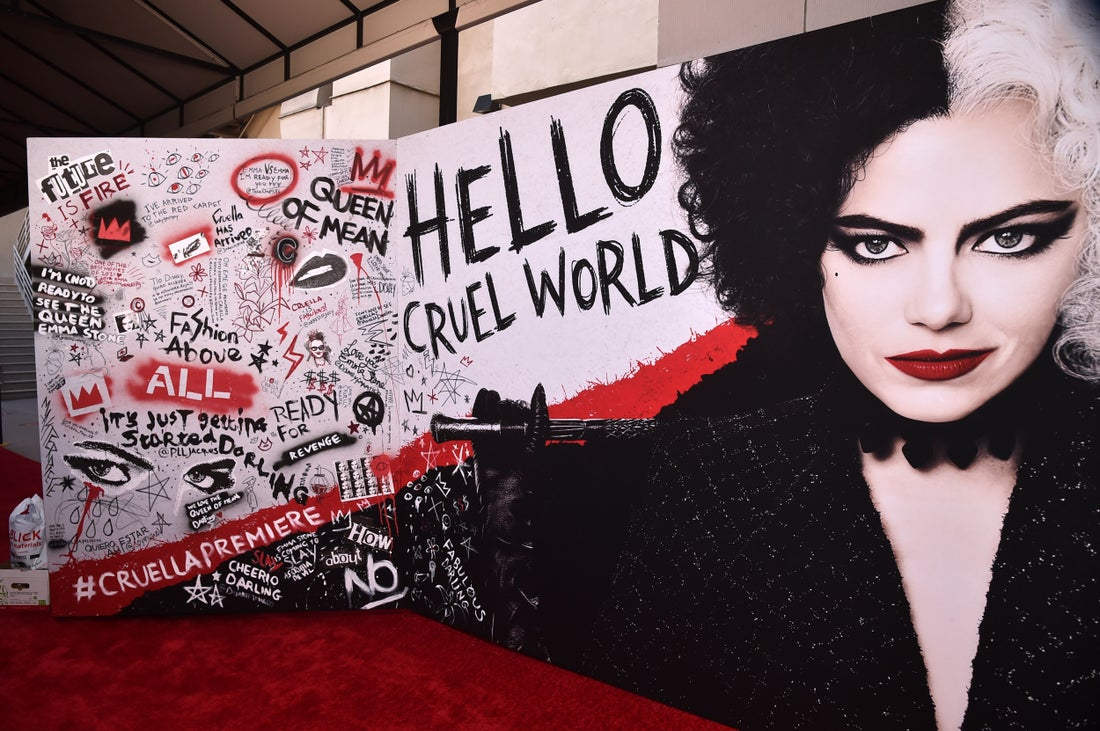 Check Out the Photos from the 'Cruella' World Premiere