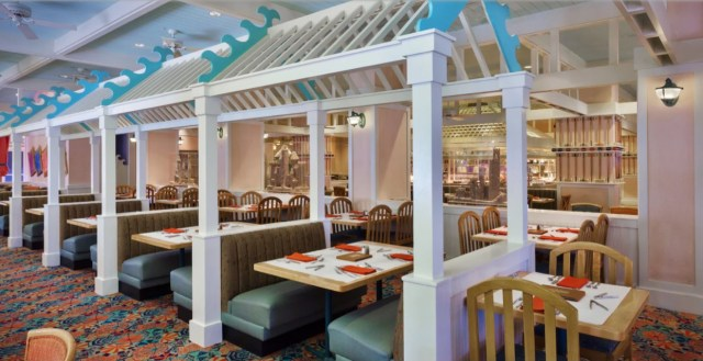 Chef Mickey's Dinner, Cape May Cafe, and Tusker House reopening this month! 2