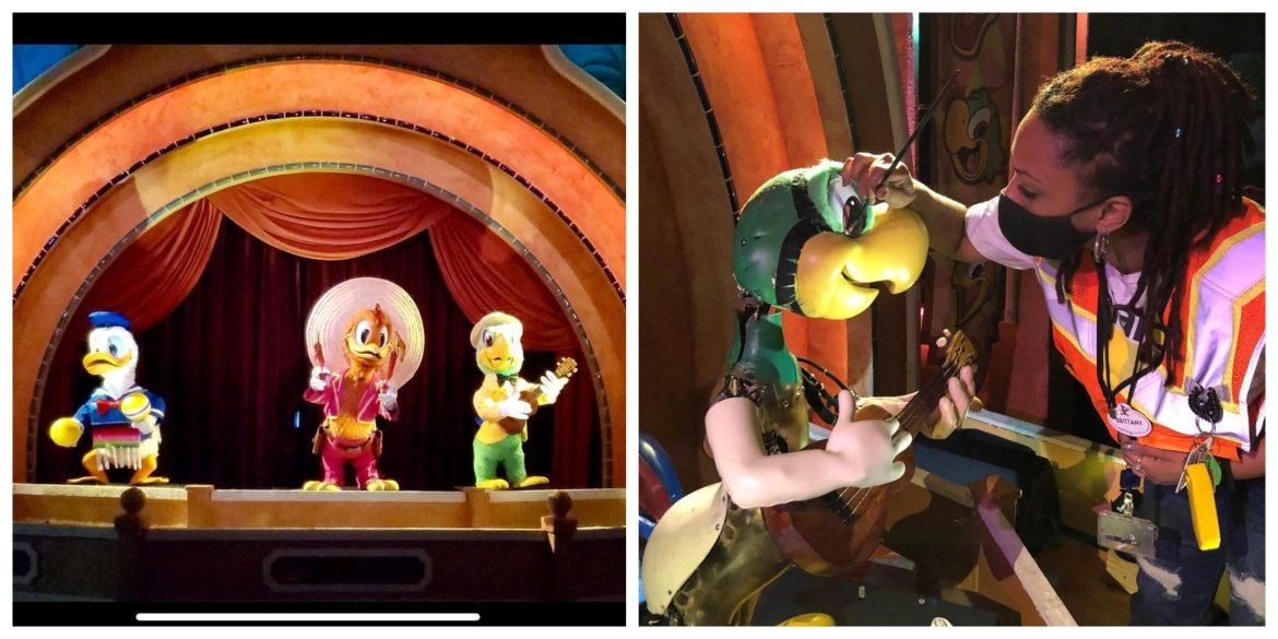 The Three Caballeros have returned to The Gran Fiesta Tour
