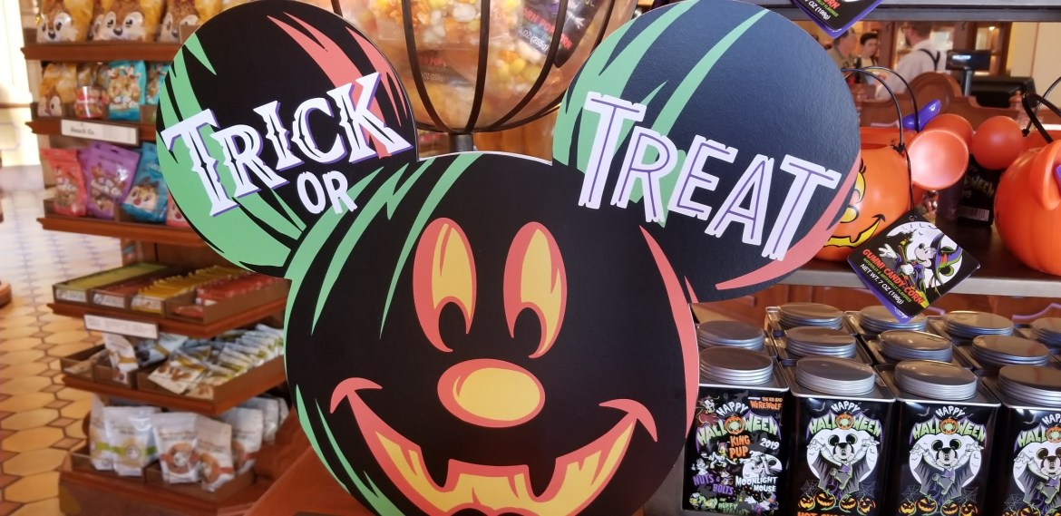 Disney Celebrates Halfway to Halloween tomorrow!