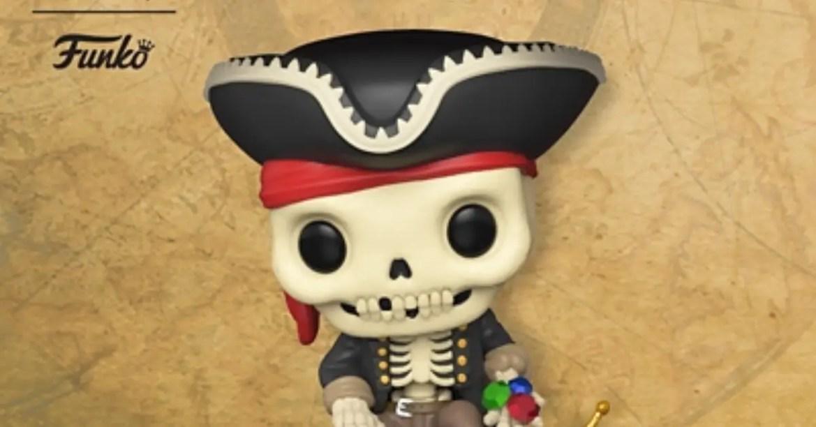 Pirates of the Caribbean Funko Pop! Treasure Skeleton