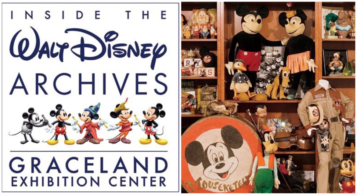 Walt Disney Archives to Host 6-Month Exhibition at Graceland