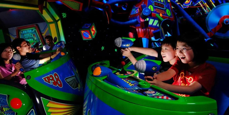 Buzz Lightyear Astro Blasters returning to Disneyland