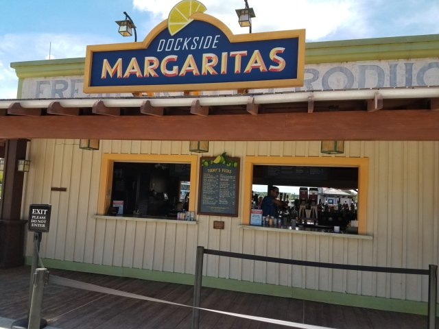 Try the New Pineapple Chipotle Margarita in Disney Springs 2