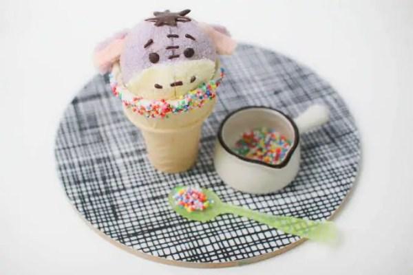 Eeyore cupcake cone