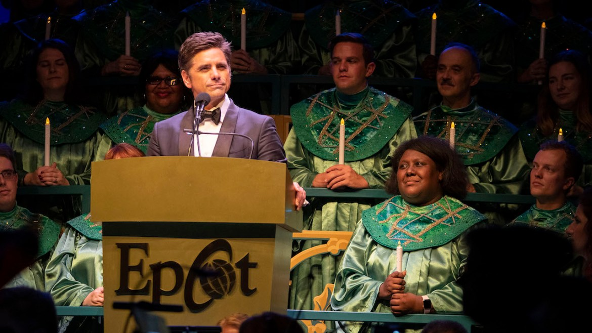 John Stamos Shares Candlelight Experience and How He Got the Disneyland Sign to His House