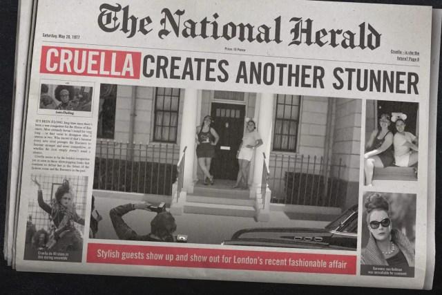 New Cruella Photopass in Epcot 3
