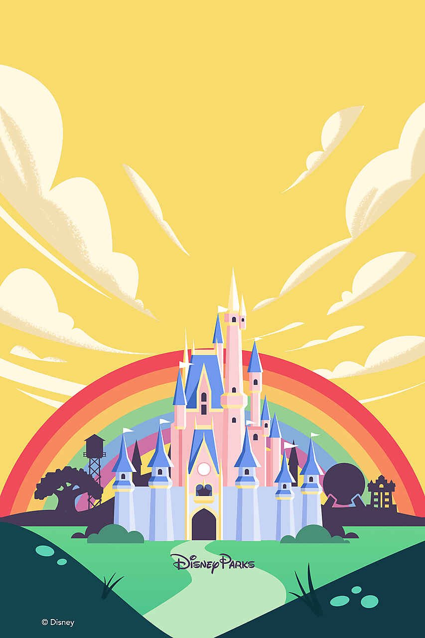 Complimentary Pride media added to PhotoPass Gallery on My Disney Experience 4