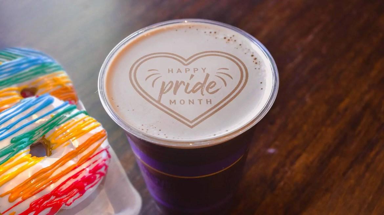 Joffrey's Coffee is celebrating Pride Month at Walt Disney World