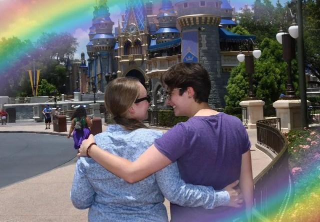 rainbow-filled Magic Shots