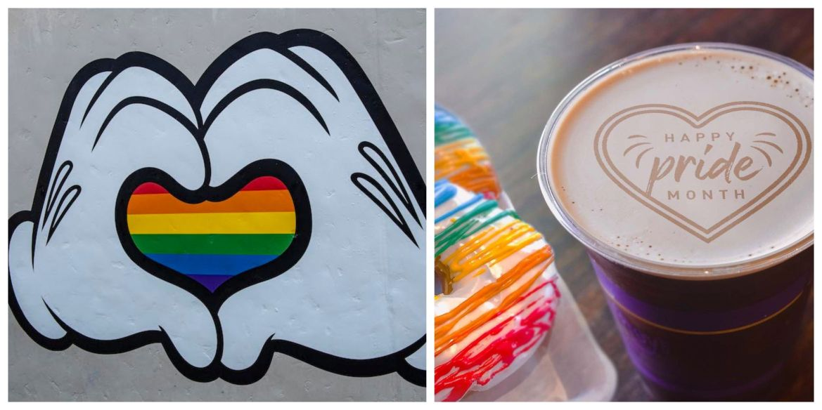 Share your Pride all month long at Walt Disney World