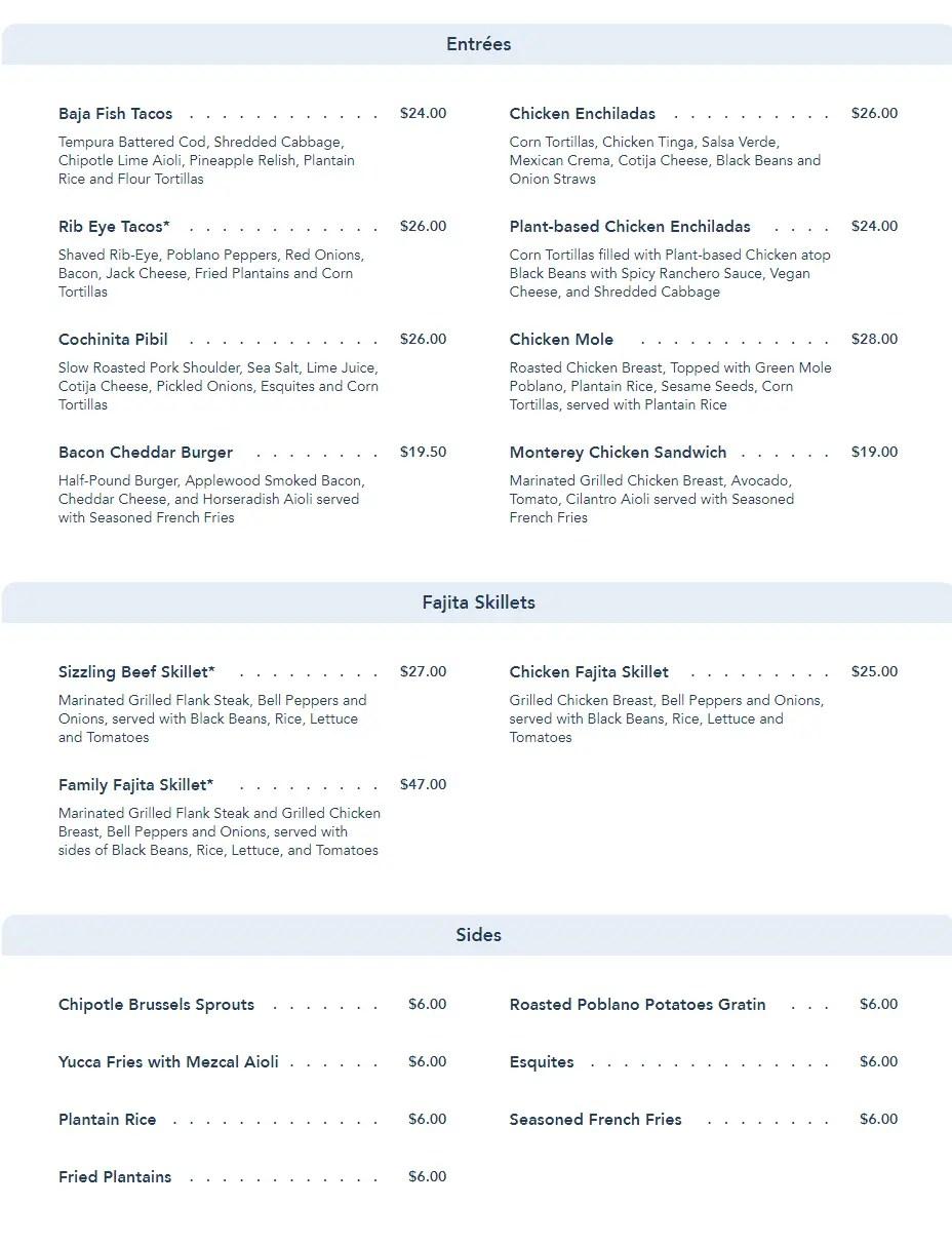 Maya Grill reopening on June 24th at Disney's Coronado Springs with an updated menu 2