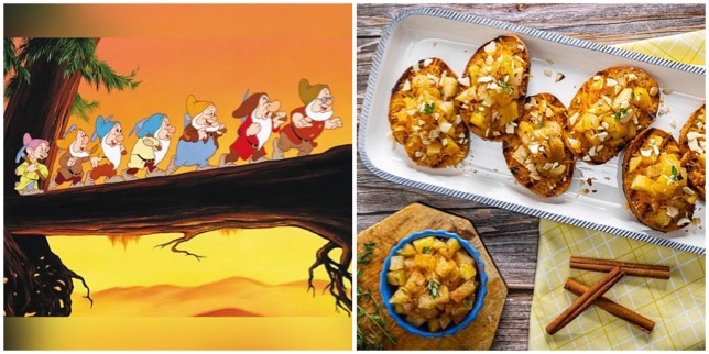 This Heigh-Ho Apple Bruschetta Will Have You Whistling While You Eat!