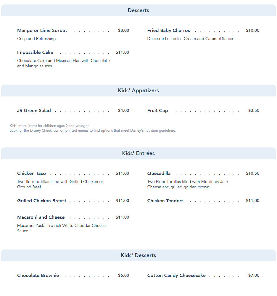 Maya Grill reopening on June 24th at Disney's Coronado Springs with an updated menu 3