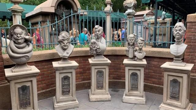 Magic Kingdom's Haunted Mansion Interactive Queue returns 1