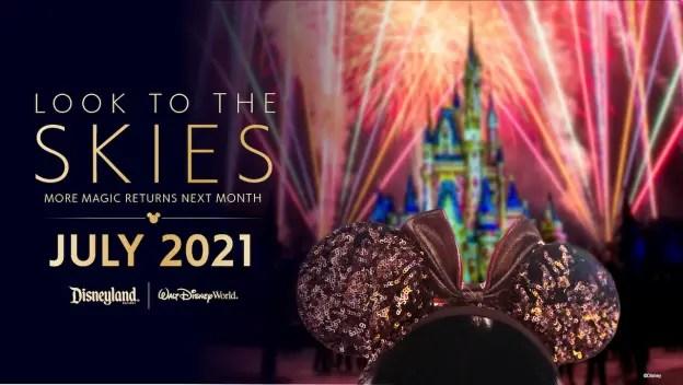 Fireworks returning to Disney this summer!