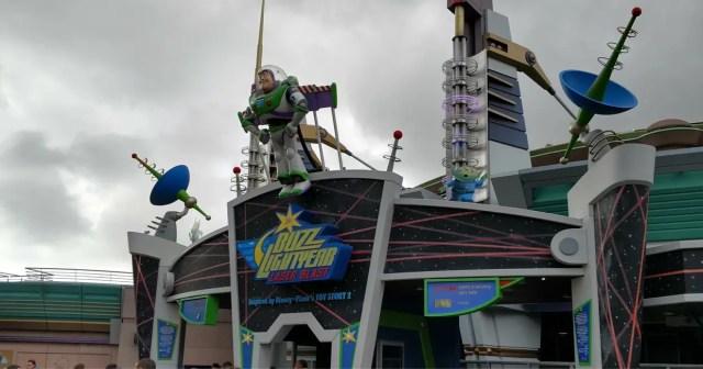 Blast off on Buzz Lightyear Laser Blast with Chip & Dale 2