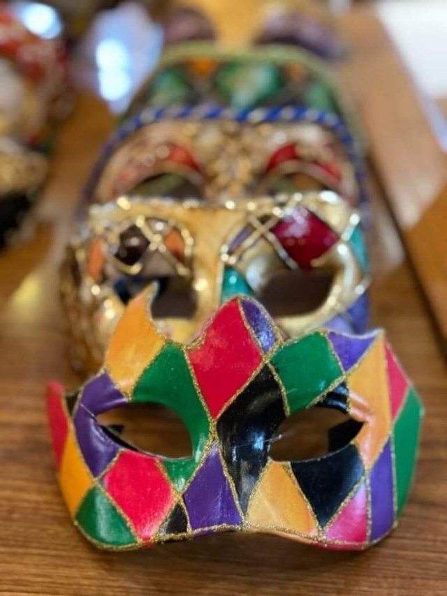 Paint your own Mask now at Epcot's Italy Pavilion 2