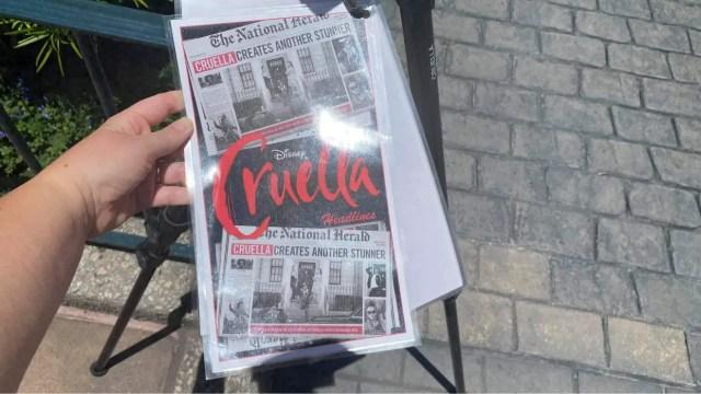 New Cruella Photopass in Epcot 1