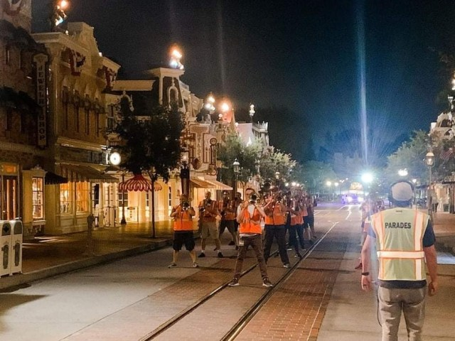 Disneyland band is returning this Friday! 2