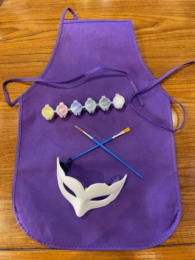 Paint your own Mask now at Epcot's Italy Pavilion 5