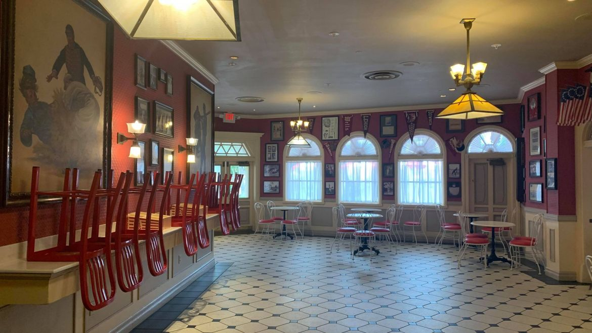 Tables & Chairs added to indoor areas of Casey's Corner