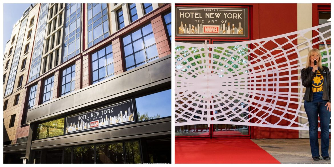 Hotel New York – The Art of Marvel Officially Opens Today at Disneyland Paris